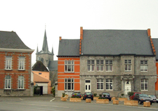 The Quotde Croquot Hotel And The St. Martin Church.