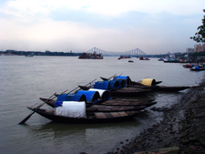 The River Ganges At Kolkata