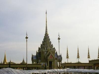 The Royal Crematorium Of Princess Galyani At Sanam Luang