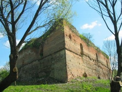 The Ruins Of The Castle In Kryłów