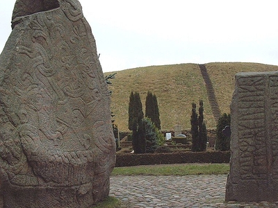The Runestones In The Foreground