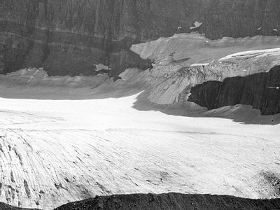 The Salamander Glacier Montana USA