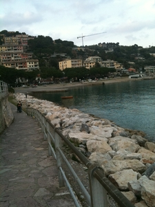 The Seafront Along Via Olivo