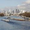 The Seine Near La Defense