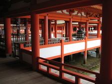 The Shrine's Halls And Pathways On Stilts