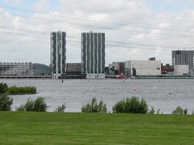 The Skyline Of Almere