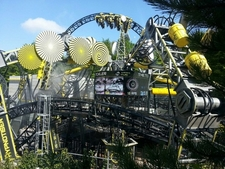 The Smiler Operating On Opening Day