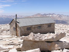 The Smithsonian Hut Shelter On Whitney's Summit