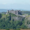 The South Wall And Cliff Face Of Carreg Cennen Castle