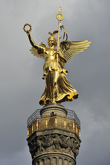 The Statue Of Victoria