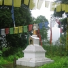The Stupa Near The Lake