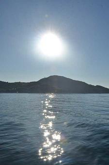 The Sunlight Upon Binh Hung Island