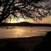 The Sunset At Half Moon Bay