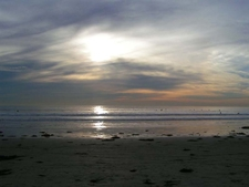 The Sunset At Tourmaline Beach