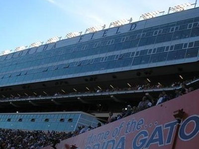 A View Of The Ben Hill Griffin Stadium Skyboxes