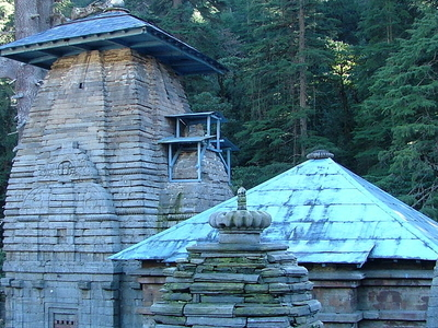 The Temples At Jageshwar