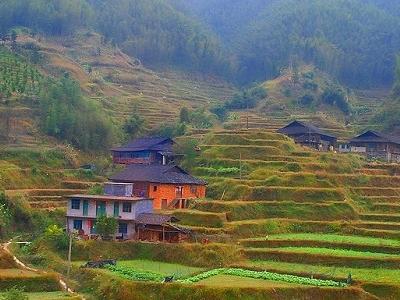 The Terraced Hills Of Longsheng Guangxi