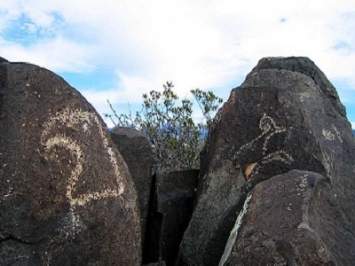 The Three Rivers Petroglyphs In New Mexico