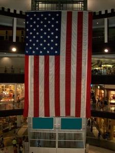 The Three Story American Flag