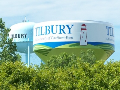 The Tilbury Water Tower.