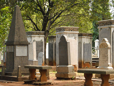 The Tombstones Of Taman Prasasti Museum