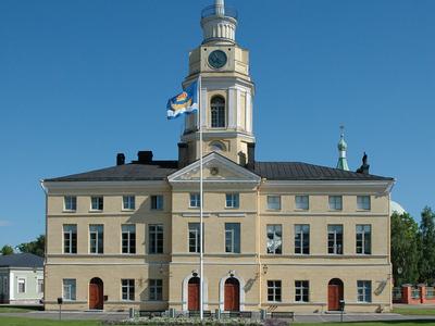 The Town Hall Of Hamina