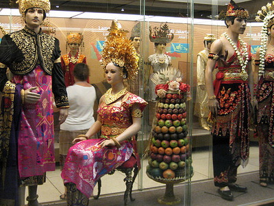 The Traditional Wedding Dress Of Native Indonesian Ethnic Groups