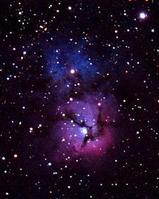 The Trifid Nebula (M20) In Sagittarius