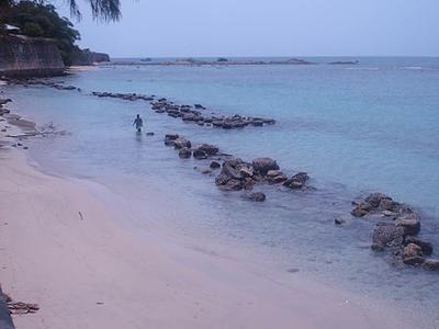 The Trincomalee Beach