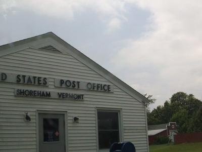 The United States Post Office On Vt