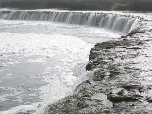 La cascada Venta