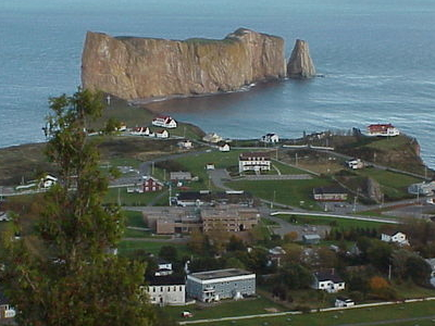 The Village And Its Famous Rock