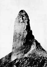 The Volcanic Spine Of Mount Pelée
