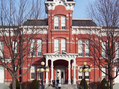 The Wayne County Courthouse
