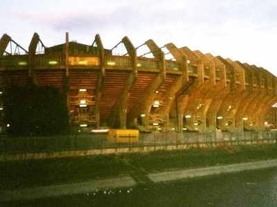 The West Stand Of The Stadium