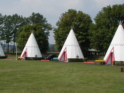 The Wigwam Village Motel Is One Of Cave Citys Unique Attraction