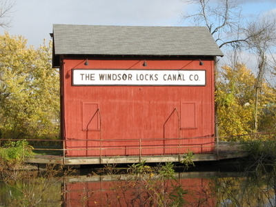 The Windsor Locks Canal Company Alongside The Enfield Falls Can