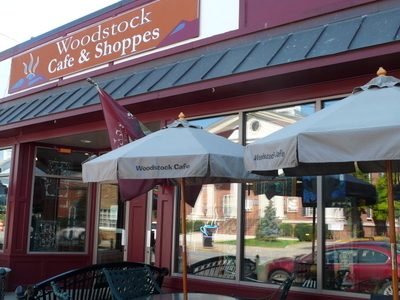 The Woodstock Cafe And Shoppes Typical Business In The Historic