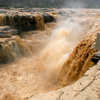 The Yellow River At The Hukou Falls