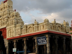 Thiruchendur Templo y playa