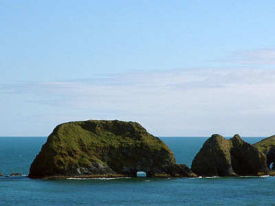 Three Arch Rocks From Cape Meares