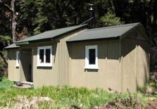 Three Mile Stream Hut