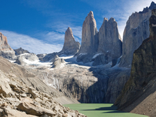 Three Towers At Torres Del Paine