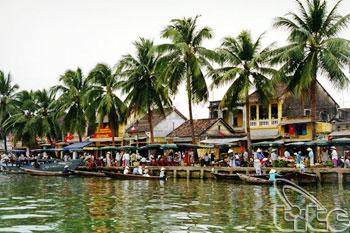 View Of Thu Bon River