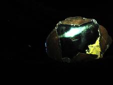 Thunder Egg Rock Exhibit At Rice Northwest Museum OR