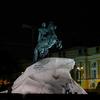 Thunder Stone At Night - Saint Petersburg - Russia