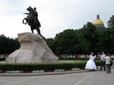 Thunder Stone - Bronze Statue- Saint Petersburg - Russia