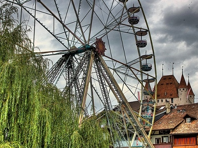 Thun Ferris Wheel & Castle