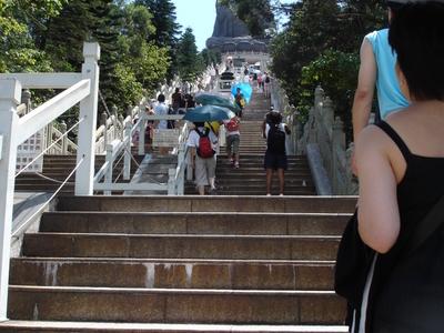 Tian  Tan  Buddha Stairs
