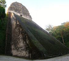 Tikal Temple V - Tikal - Mexico